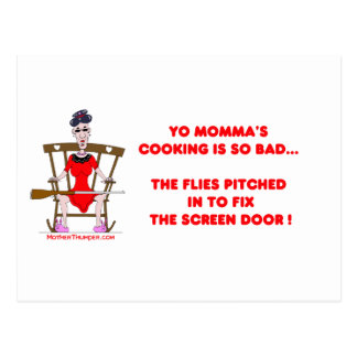 Cartão Postal Yo Momma # 01