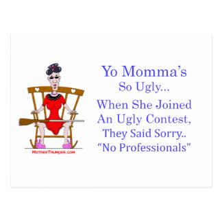 Cartão Postal Yo Momma # 04
