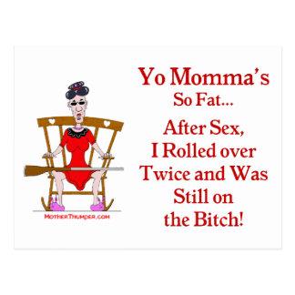 Cartão Postal Yo Momma #07