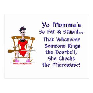 Cartão Postal Yo Momma # 08