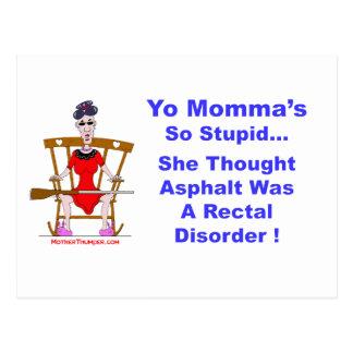 Cartão Postal Yo Momma 10