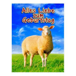 Cartão Postal Zum Muttertag de Alles Liebe