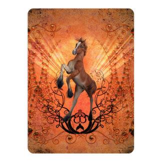 Cartão Potro maravilhoso, bonito