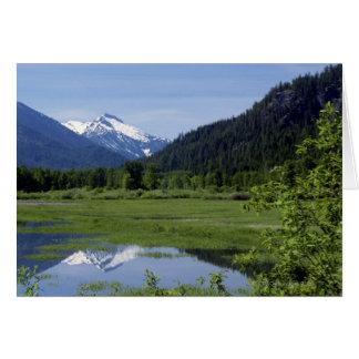 Cartão Prado, floresta nacional de Wenatchee, Washington,