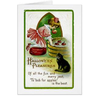 Cartão Prazeres de Hallowe'en