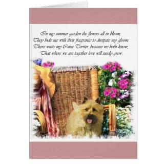 Cartão Presentes da arte de Terrier de monte de pedras