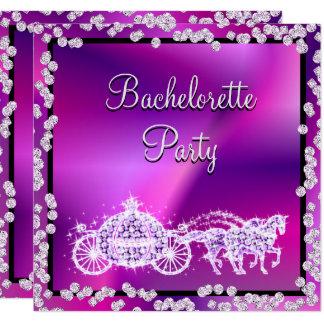 Cartão Princesa cor-de-rosa Treinamento & festa de