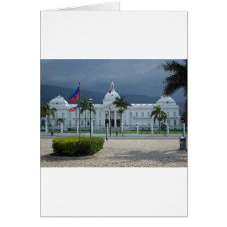 Cartão Príncipe do au do porto, Haiti