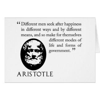 cartão procurando da felicidade, filósofo de