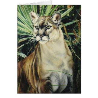 """Cartão """"Puma """""""