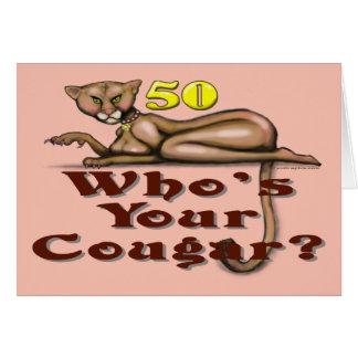 Cartão Pumas em 50