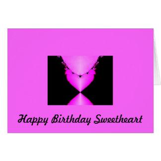 Cartão Querido do feliz aniversario
