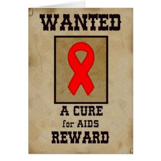 Cartão Querido: Uma cura para o AIDS