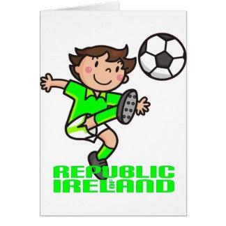 Cartão R. de Ireland - euro- 2012