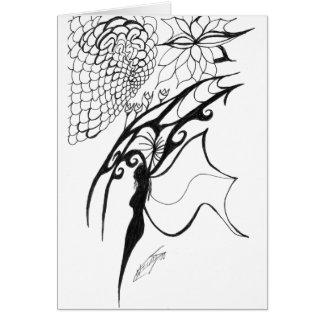 Cartão Rainha da colmeia