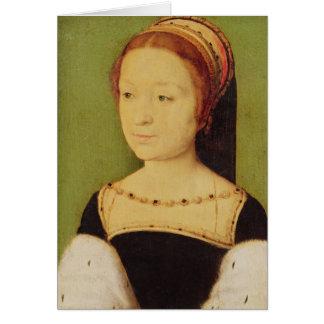 Cartão Rainha de Madeleine de France de Scotland, 1536