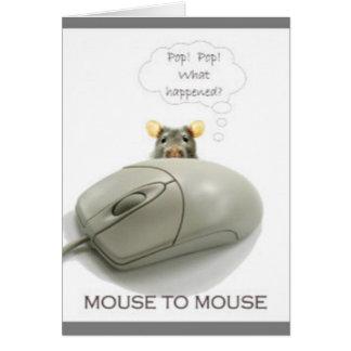Cartão Rato ao rato