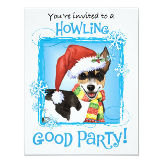 Cartão Rato feliz Terrier de Howlidays