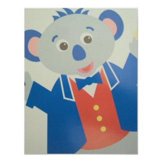 Cartão rato musico