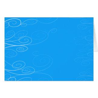 Cartão Redemoinho da sinfonia