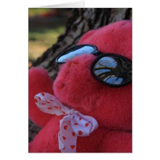 Cartão Refrigere o urso