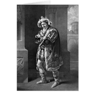 Cartão Rei Richard III 1814