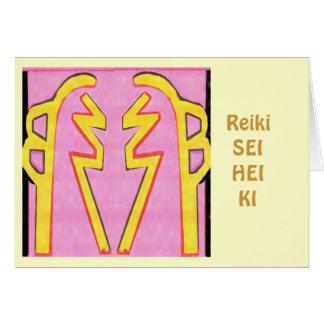 Cartão Reiki SHI HEI KI - equilíbrio da harmonia n