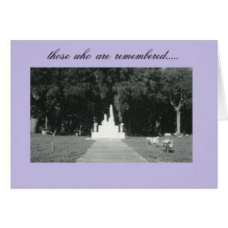 Cartão relembrança….pelo peacewillow