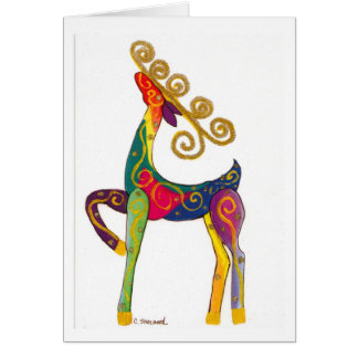 Cartão Rena