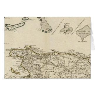 Cartão República Dominicana, Haiti, Índias Ocidentais