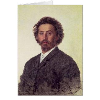 Cartão Retrato de auto, 1887