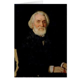 Cartão Retrato de Ivan S. Turgenev, 1879
