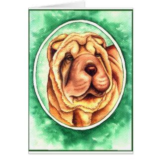 Cartão Retrato de Pimenta de Caiena