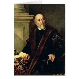 Cartão Retrato de Tommaso Giunta, 1563