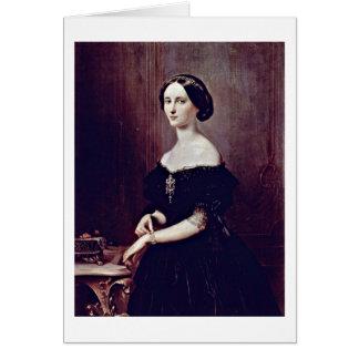 Cartão Retrato de um Venetian por Francesco Hayez