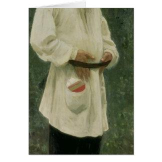 Cartão Retrato do lev Tolstoy 1901