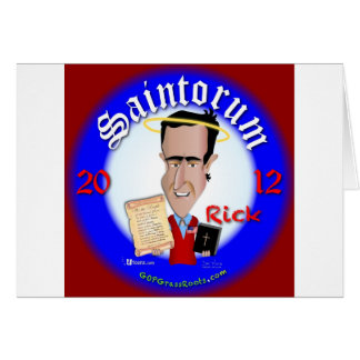 Cartão Rick Saintorum
