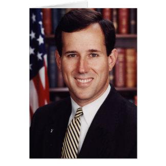 Cartão Rick Santorum