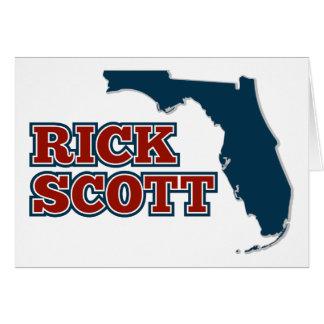 Cartão Rick Scott para Florida