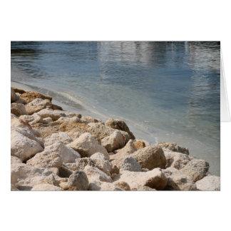 Cartão Rio e rochas