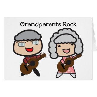 Cartão Rocha das avós