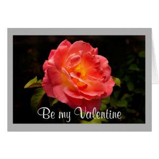 Cartão Rosa vermelha dos namorados 20