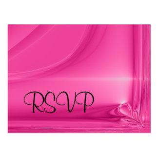 Cartão - RSVP romântico Cartão Postal