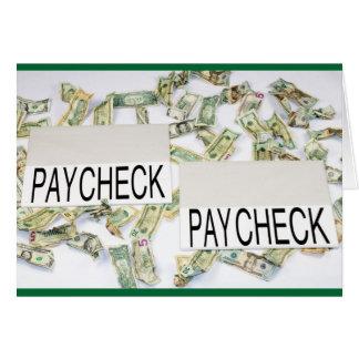 Cartão Salário a pagar