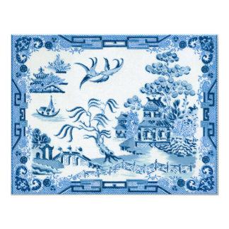 Cartão Salgueiro azul