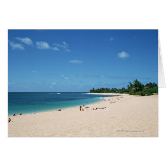 Cartão Sandy Beach 3