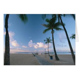 Cartão Sandy Beach 4