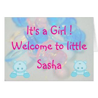 Cartão Sasha