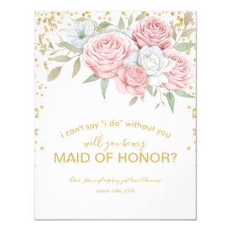 Cartão Seja meu jardim rústico do primavera da madrinha