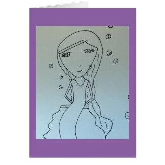 Cartão Sereia